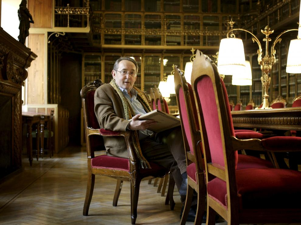 Carlos Forcadell, director de la Institución Fernando el Católico