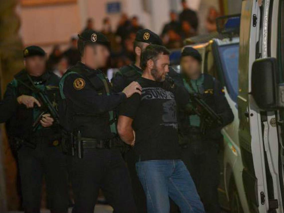 Norbert Feher, el 17 de diciembre, tras confesar los tres asesinatos de Andorra ante la juez.