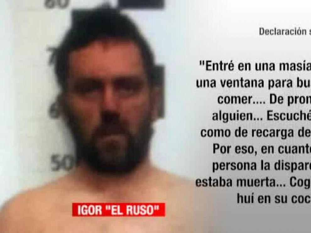 La confesión de Igor El Ruso sobre los asesinatos de Andorra