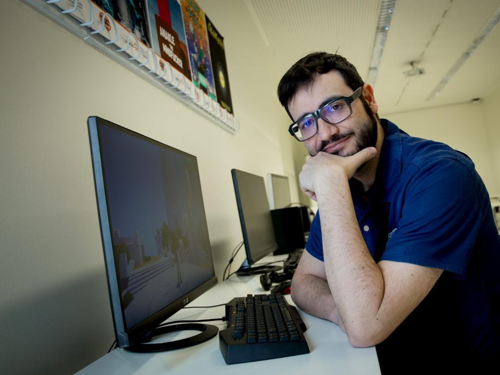 Raúl Rubio ofreció una conferencia en la Universidad San Jorge de Zaragoza.