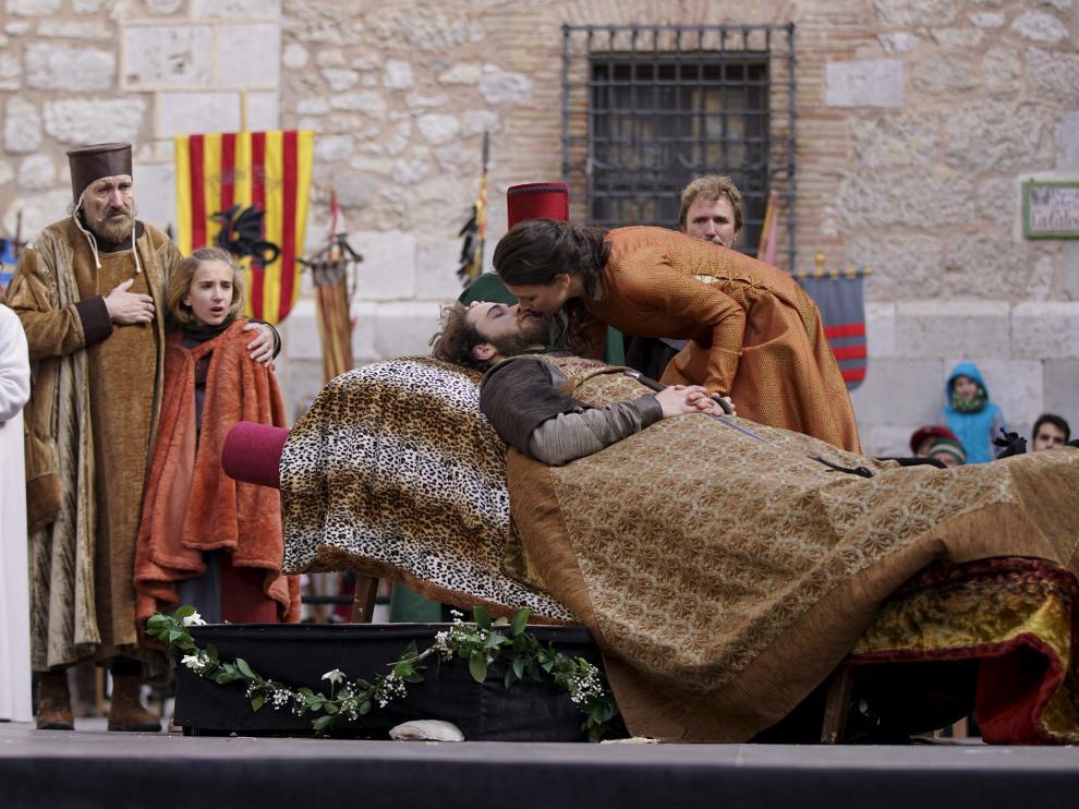 Imagen de archivo de una celebración de las Bodas de Isabel.