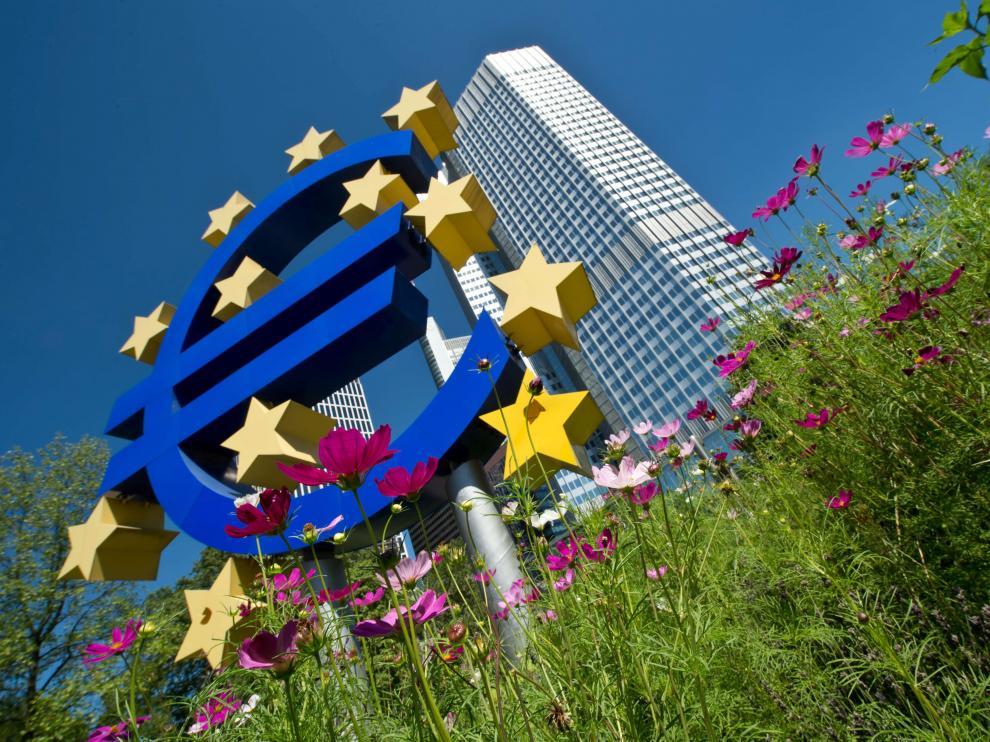 Sede del BCE en la ciudad alemana de Fráncfort