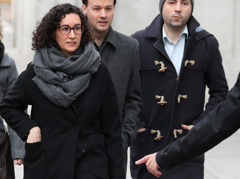 El juez Llanera deja a Marta Rovira en libertad bajo fianza de 60.000 euros