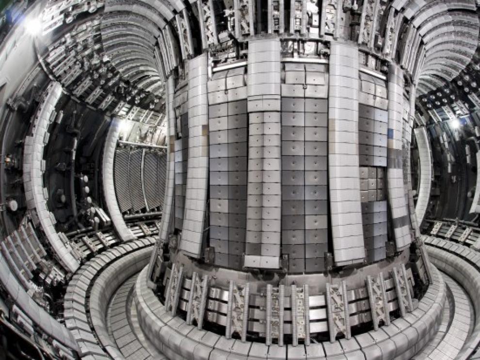 Un reactor de fusión nuclear.