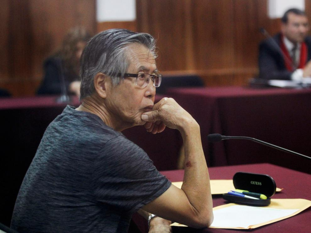 Foto de archivo de Alberto Fujimori
