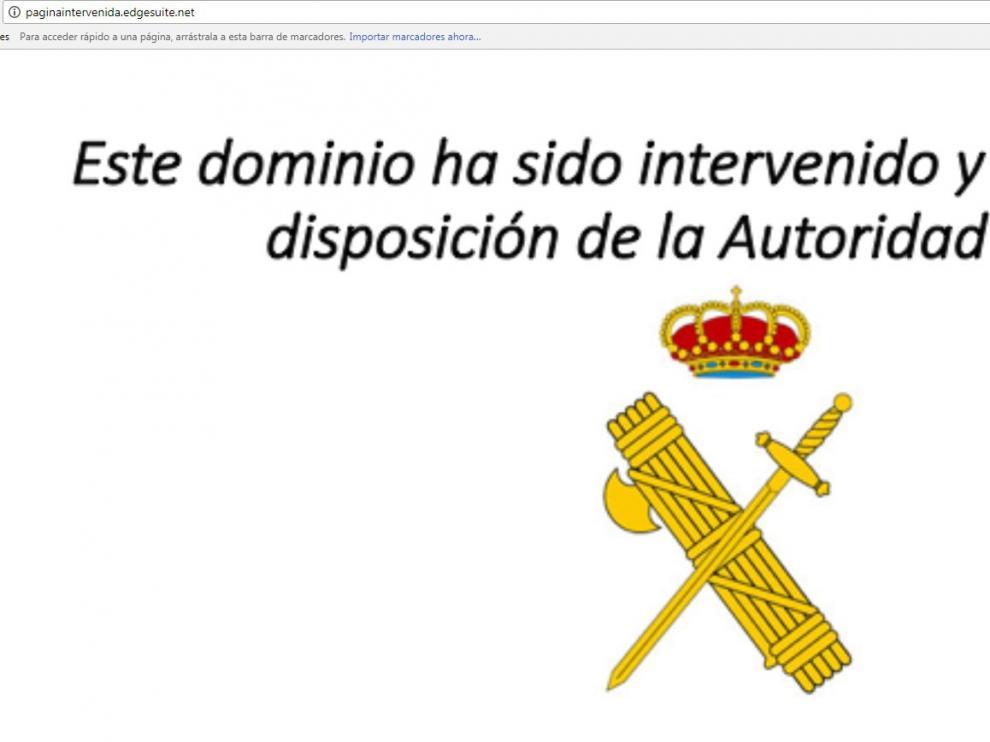 La página web www.divxtotal.com es una de las bloqueadas por la Guardia Civil.