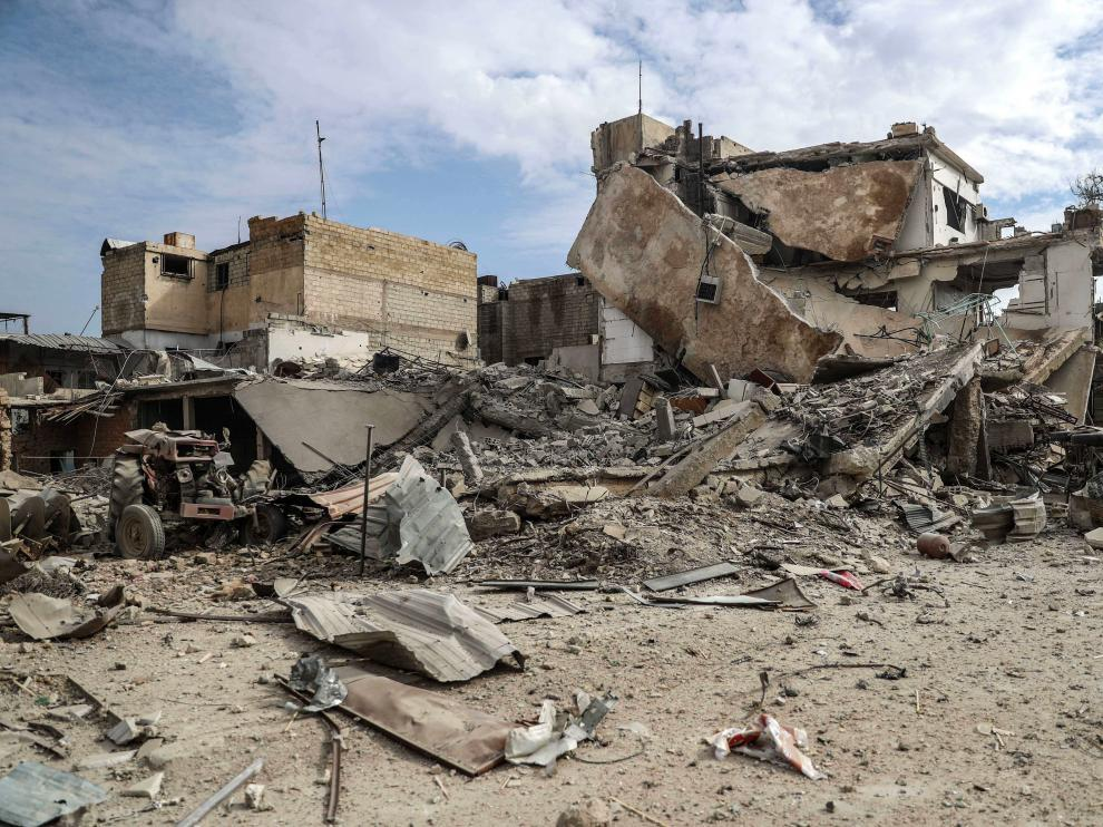 Foto de archivo de un ataque en Guta