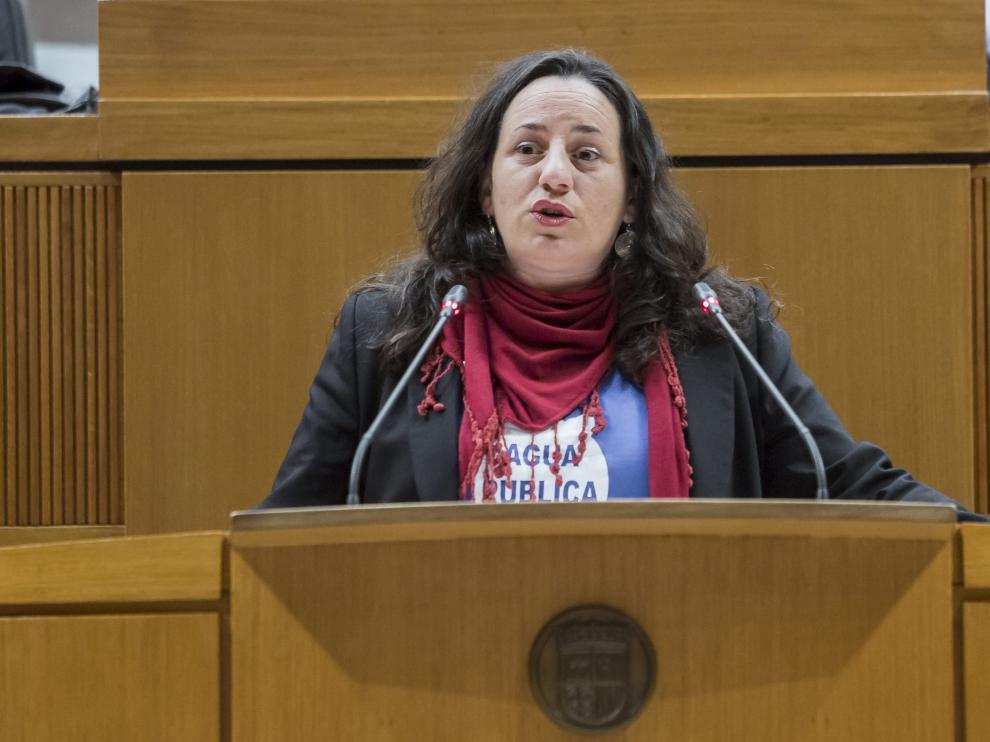 Marta de Santos, coordinadora de la comisión de investigación.