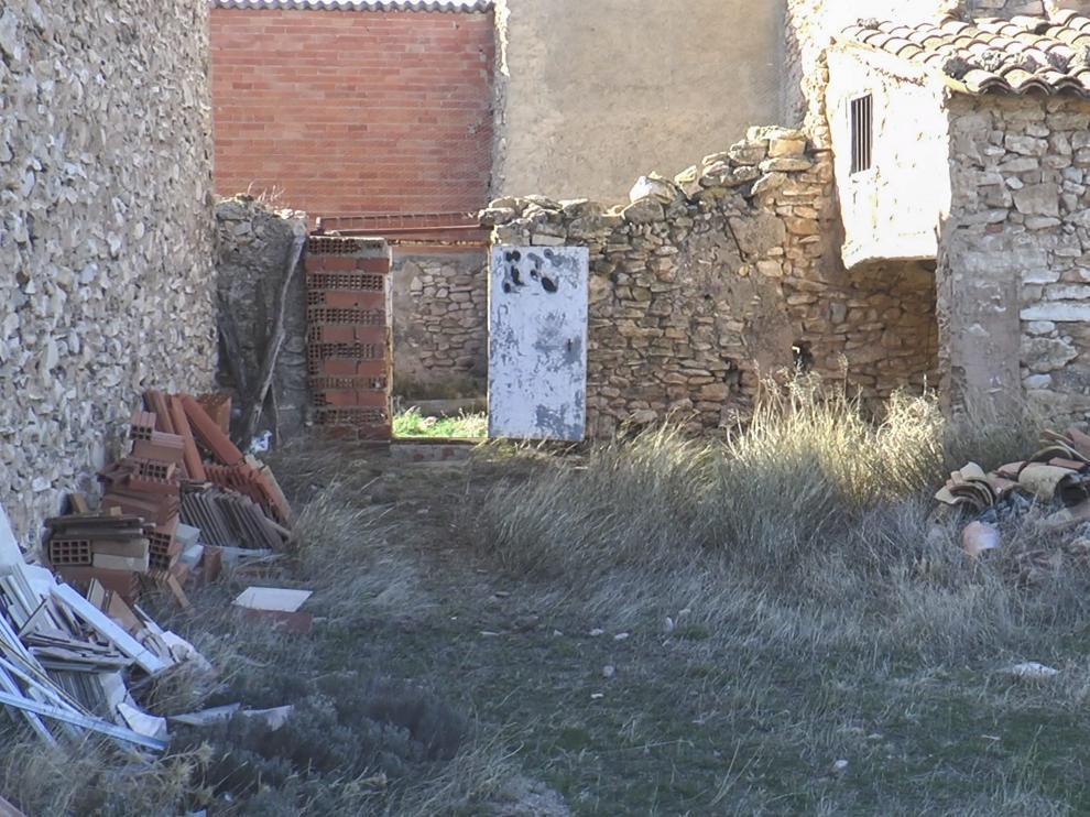 El criminal serbio se ocultaba en este corral en ruinas en el paraje del Saso en Andorra.