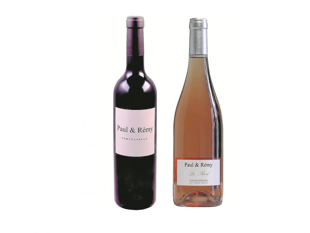 Paul & Rémy tinto y rosé.