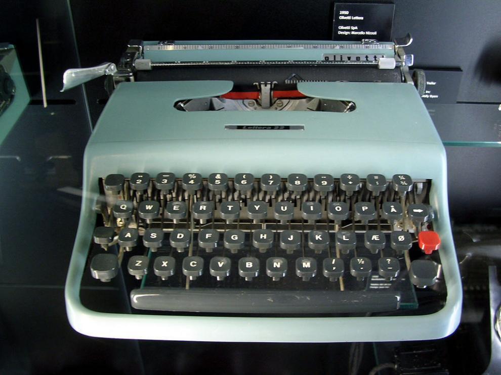 ¿Vuelve la máquina de escribir?