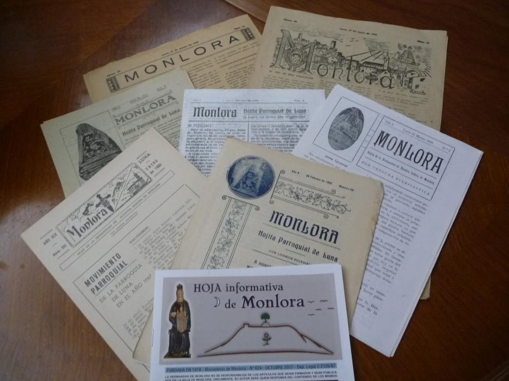 Imágenes antiguas de la publicación.