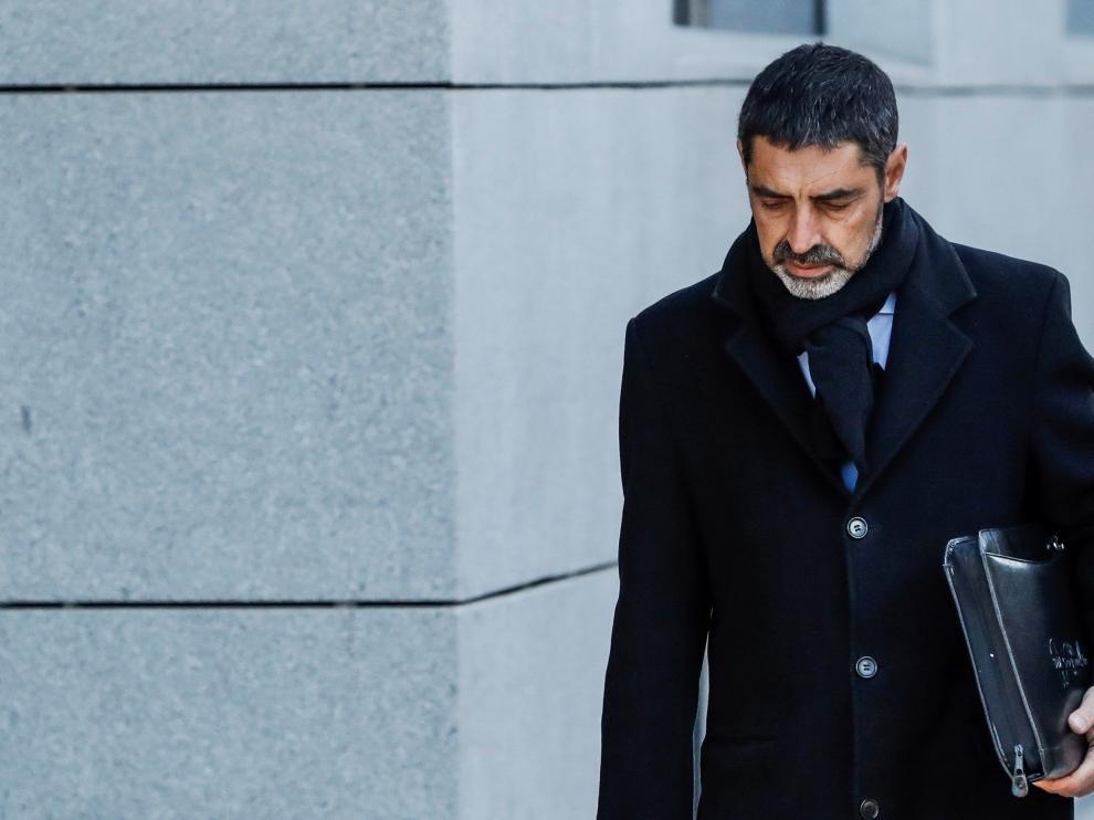 El exjefe de los Mossos Josep Lluis Trapero.