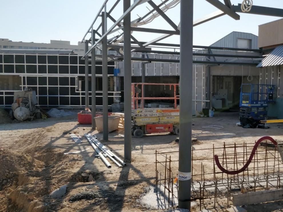 Estado actual de las obras del futuro colegio de Arcosur