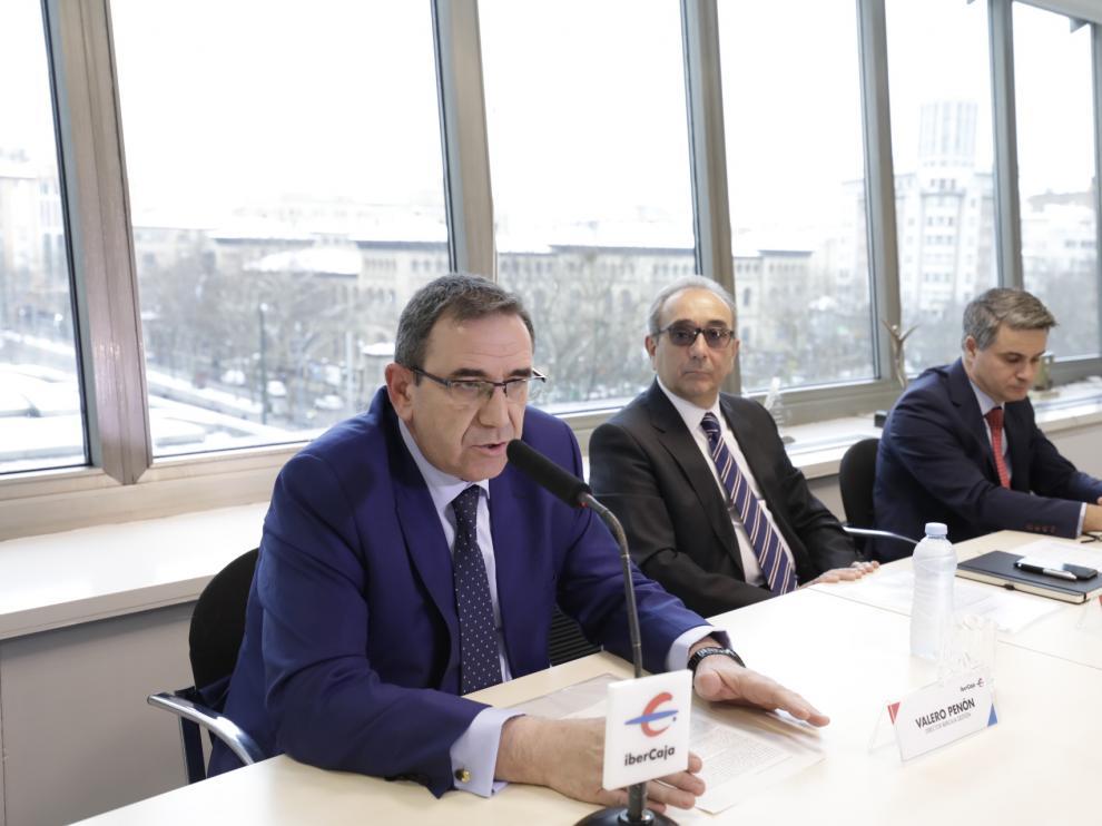 Valero Penón, Rodrigo Galán y Óscar del Diego.