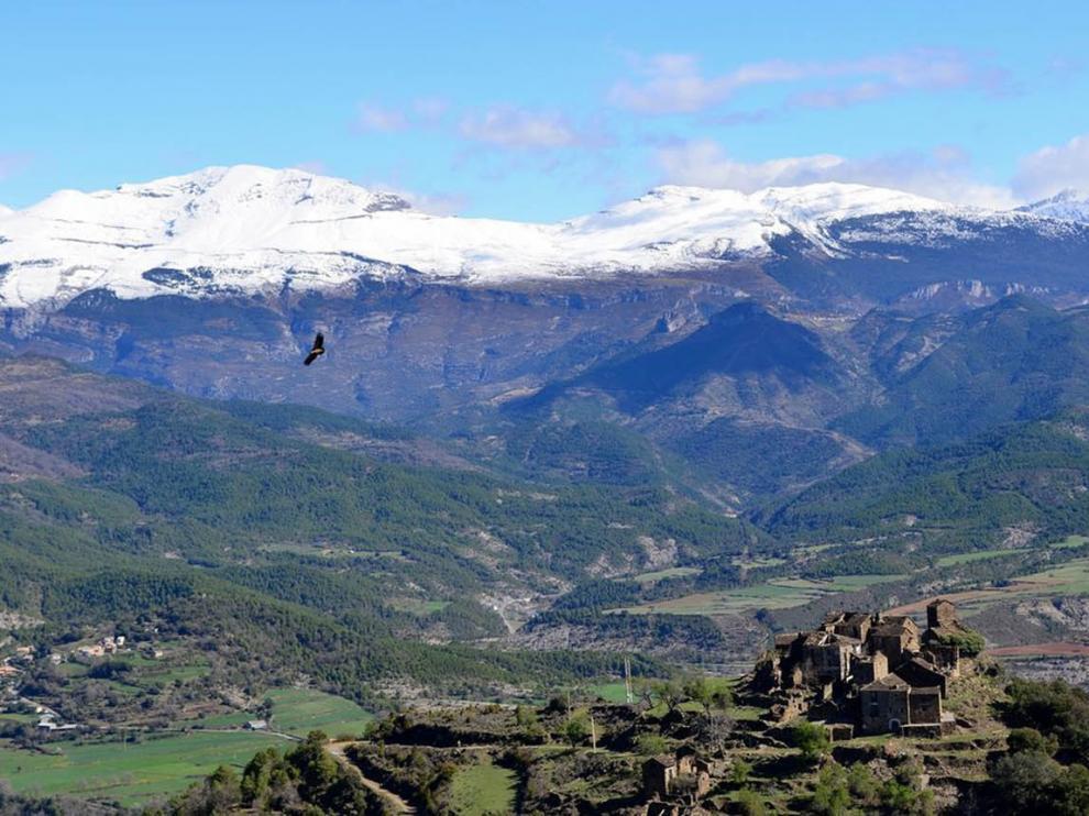 Imagen del Pirineo aragonés.
