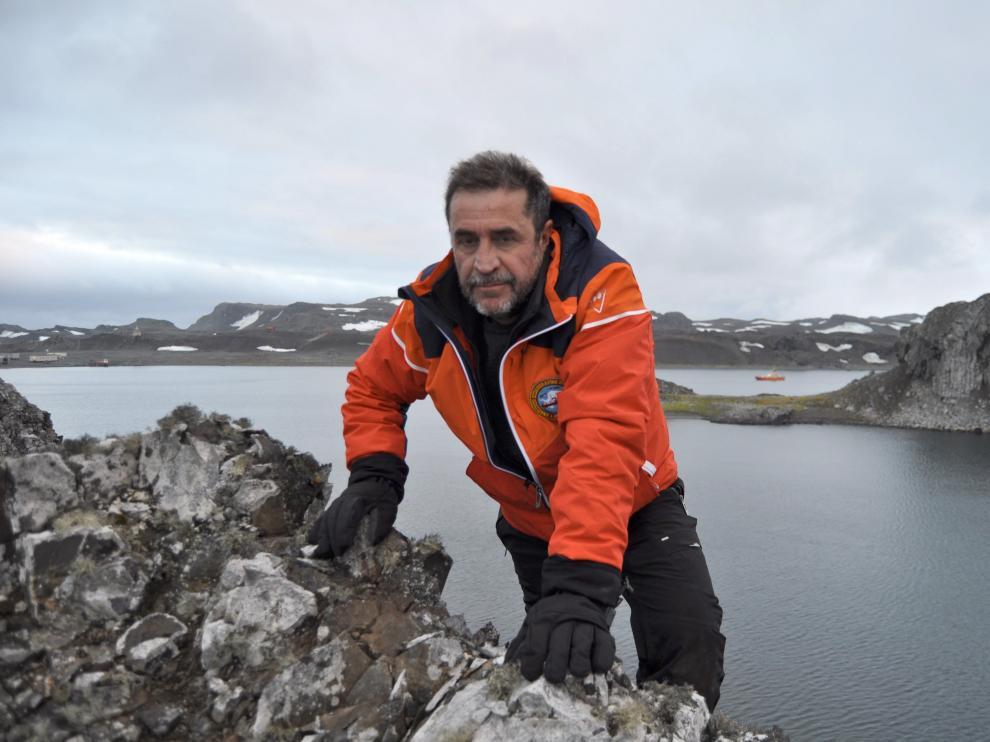 Foto de Javier Montojo Salazar, capitán de fragata del Hespérides, facilitada por el Ministerio de Defensa.