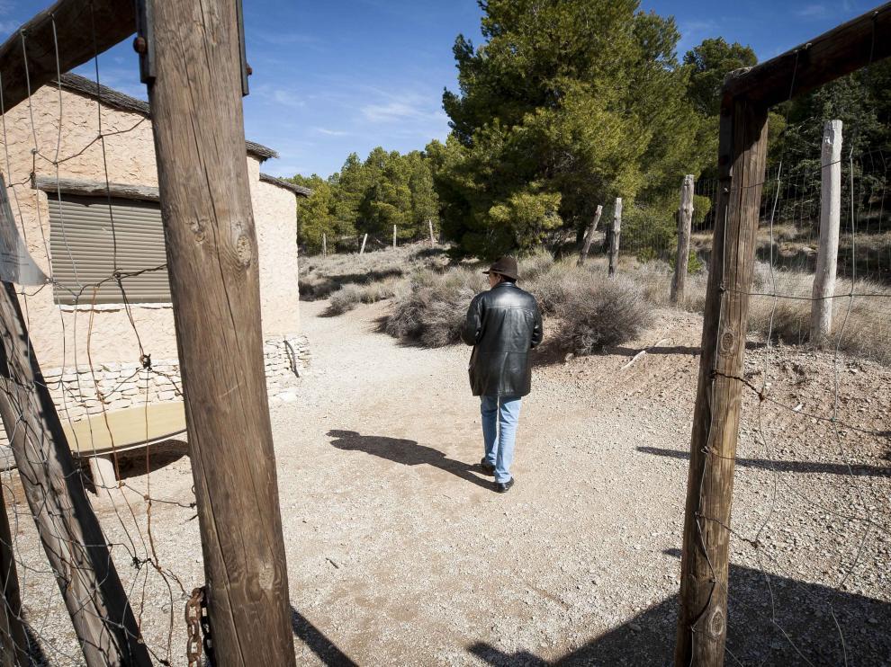 En el Parque Arqueológico se ha recreado una cabaña de la Edad de Hierro.