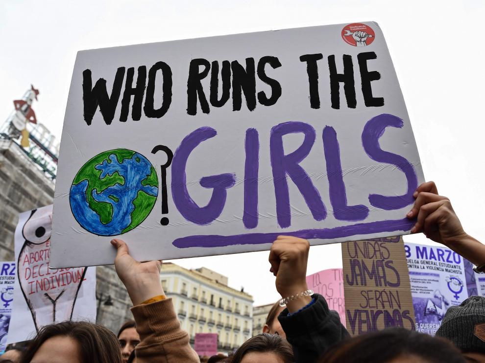 Imagen de archivo de las protestas del 8M.