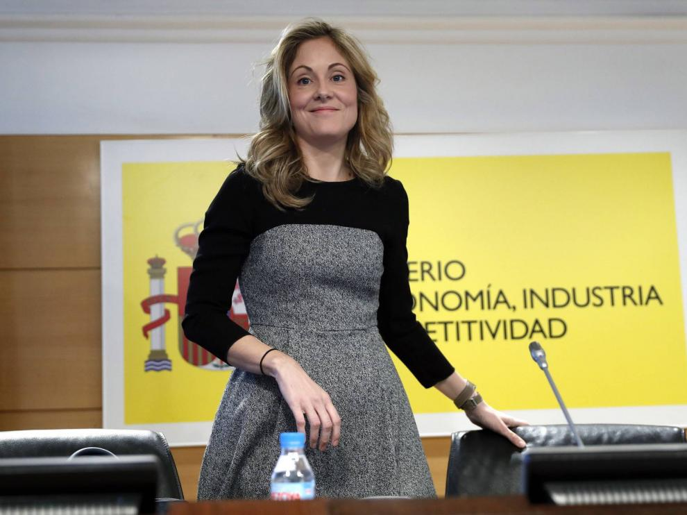 Emma Navarro, secretaria del Tesoro