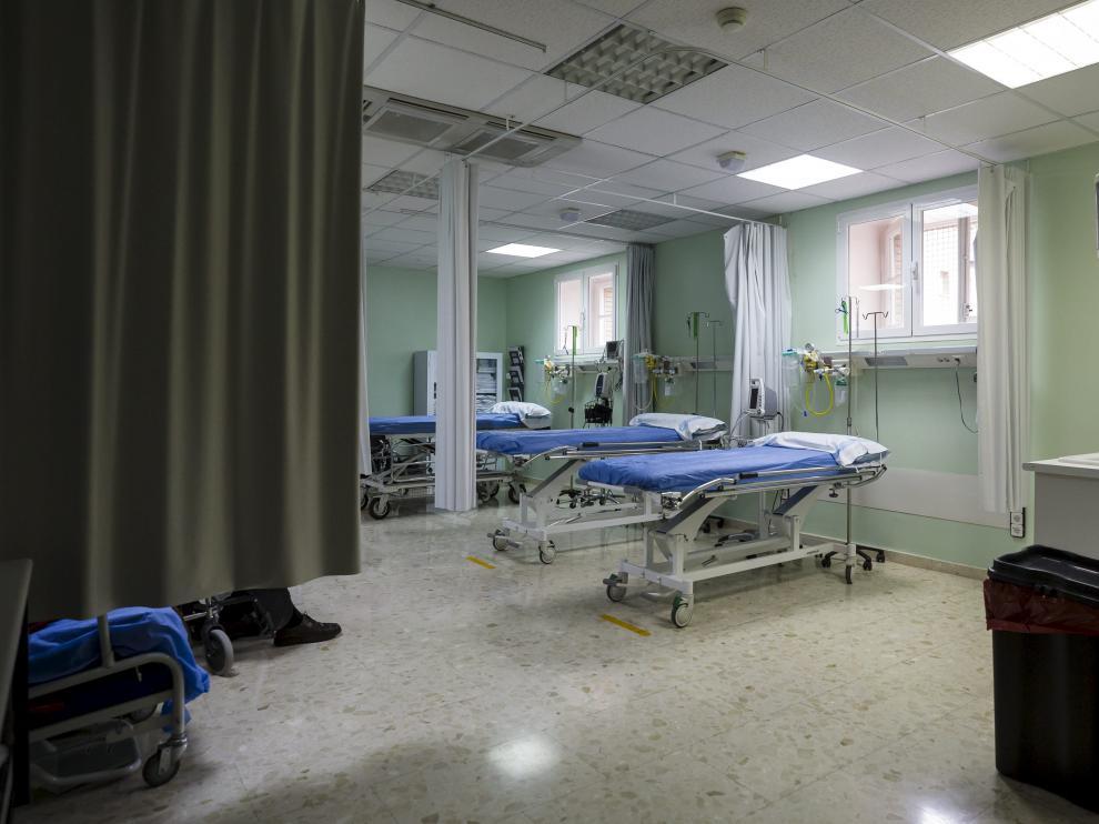 Instalaciones del hospital Militar de Zaragoza
