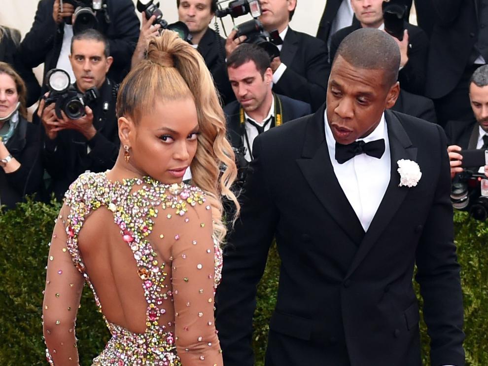 Beyoncé y Jay Z en una imagen de archivo