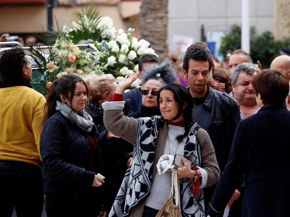 Funeral por Gabriel Cruz en la catedral de Almería