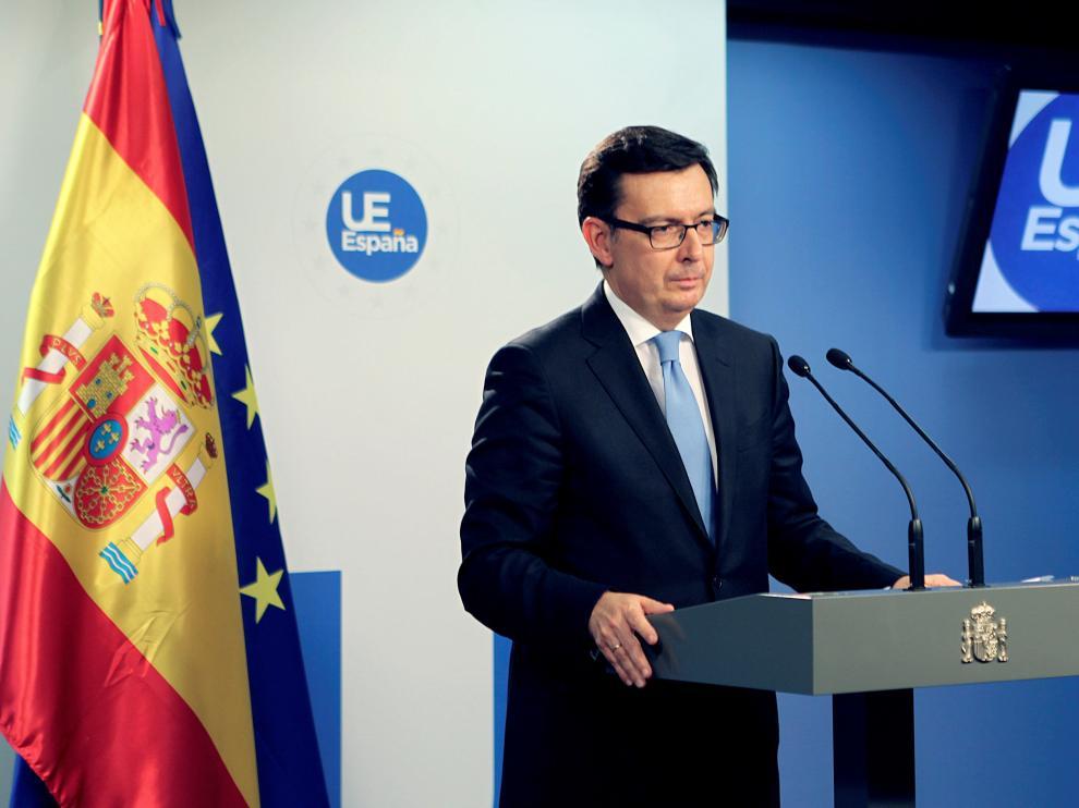 Escolano, ministro de Economía.