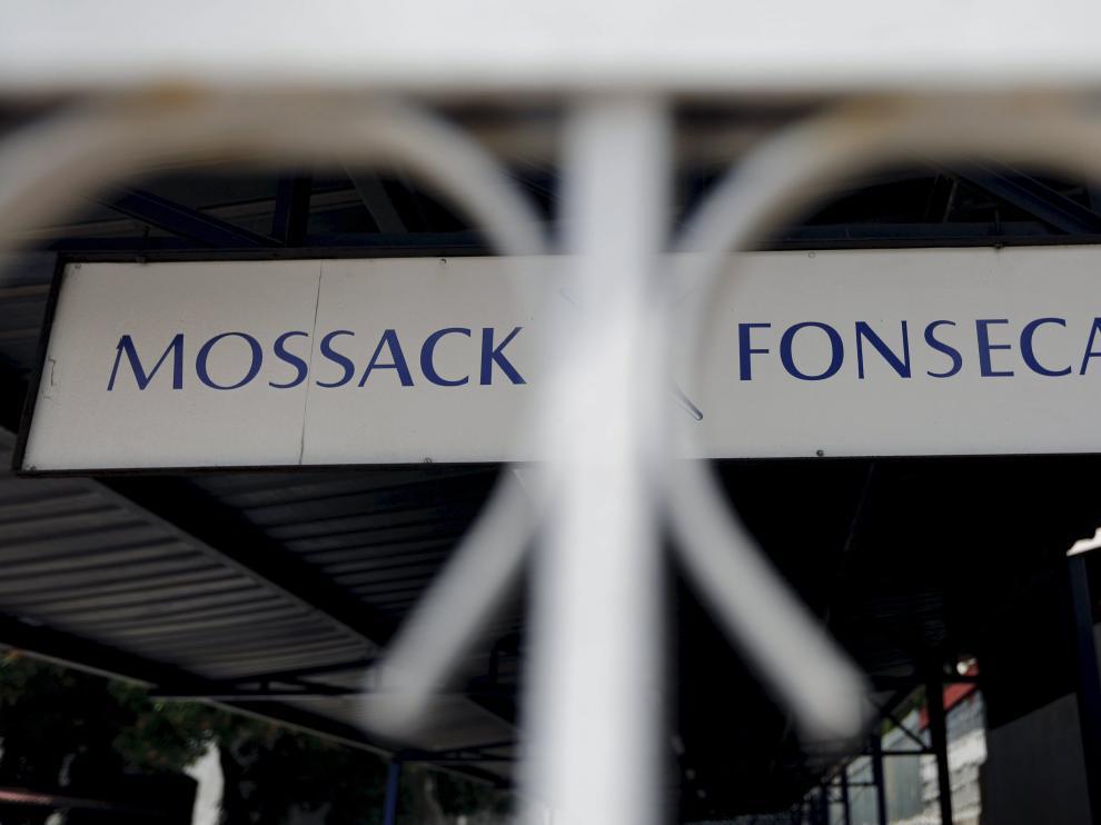 Logo del bufete de abogados Mossack Fonseca.