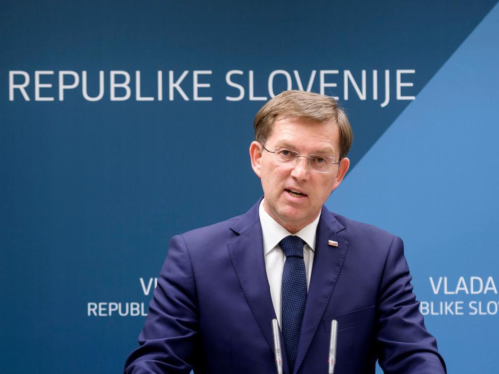 Miro Cerar, ministro de de Asuntos Exteriores de Eslovenia