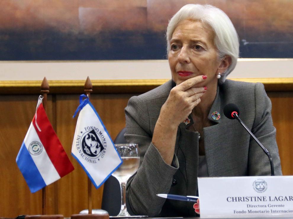 Christine Lagarde, directora del FMI.