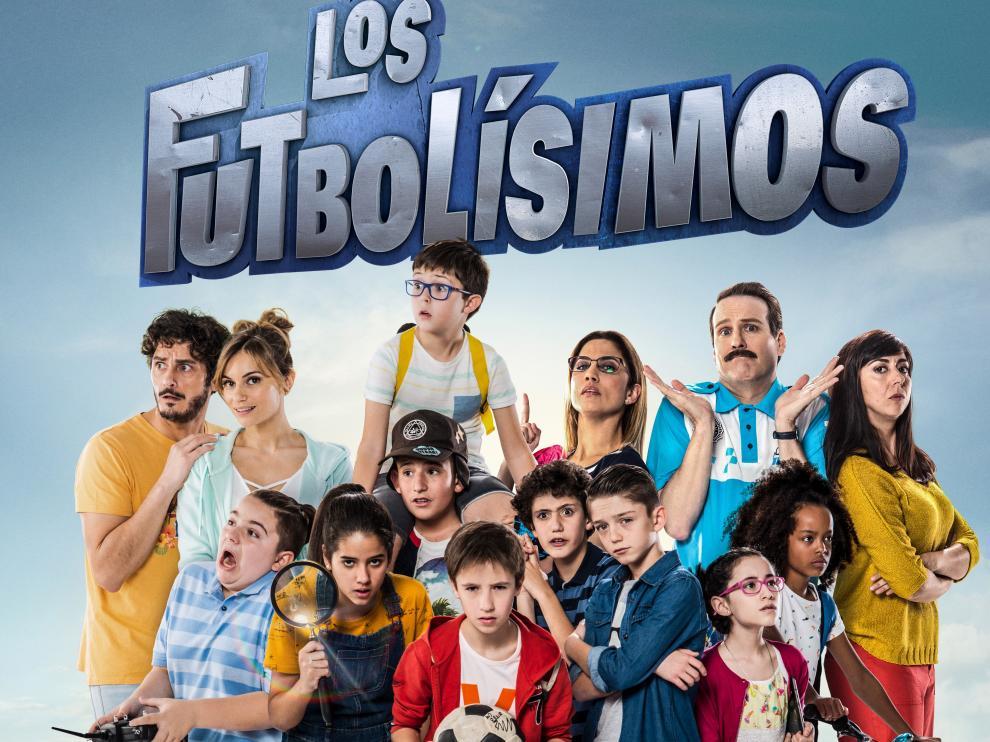 Cartel promocional de la película 'Los Futbolísimos'.
