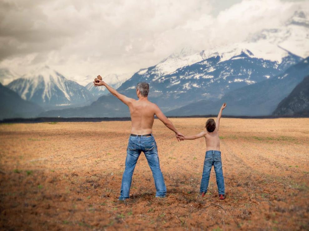 """Papá, yo te quiero, pero no me avergüences, por favor"""