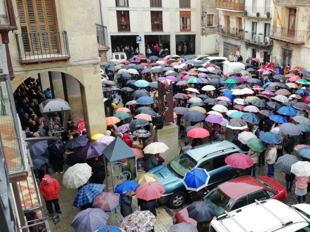 La concentración ha reclamado pensiones dignas.