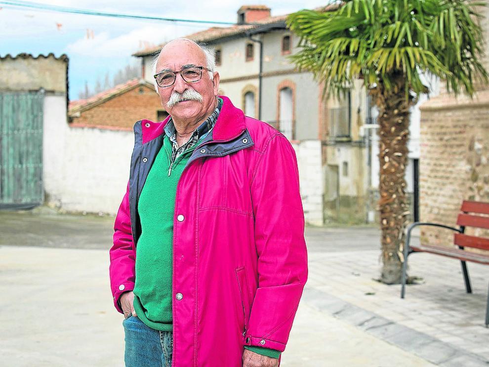 Saúl Herrero (PSOE) dirige el consistorio de la localidad de Atea desde hace siete años.