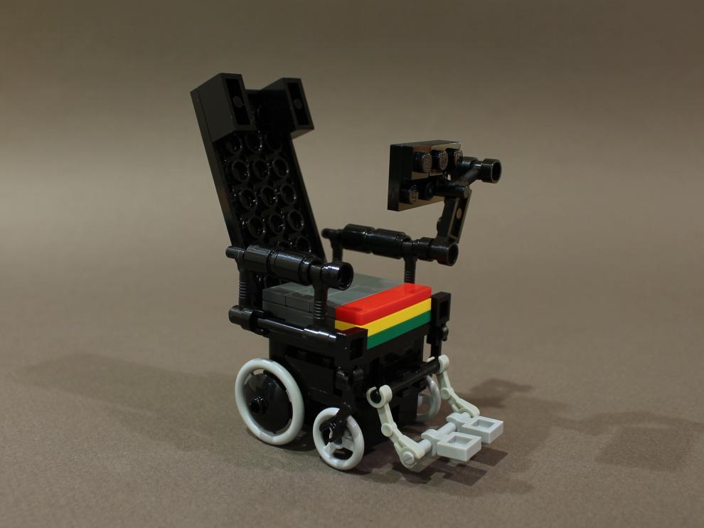 Hawking se convirtió también en icono de la cultura popular; incluso los amantes de Lego le rindieron tributo
