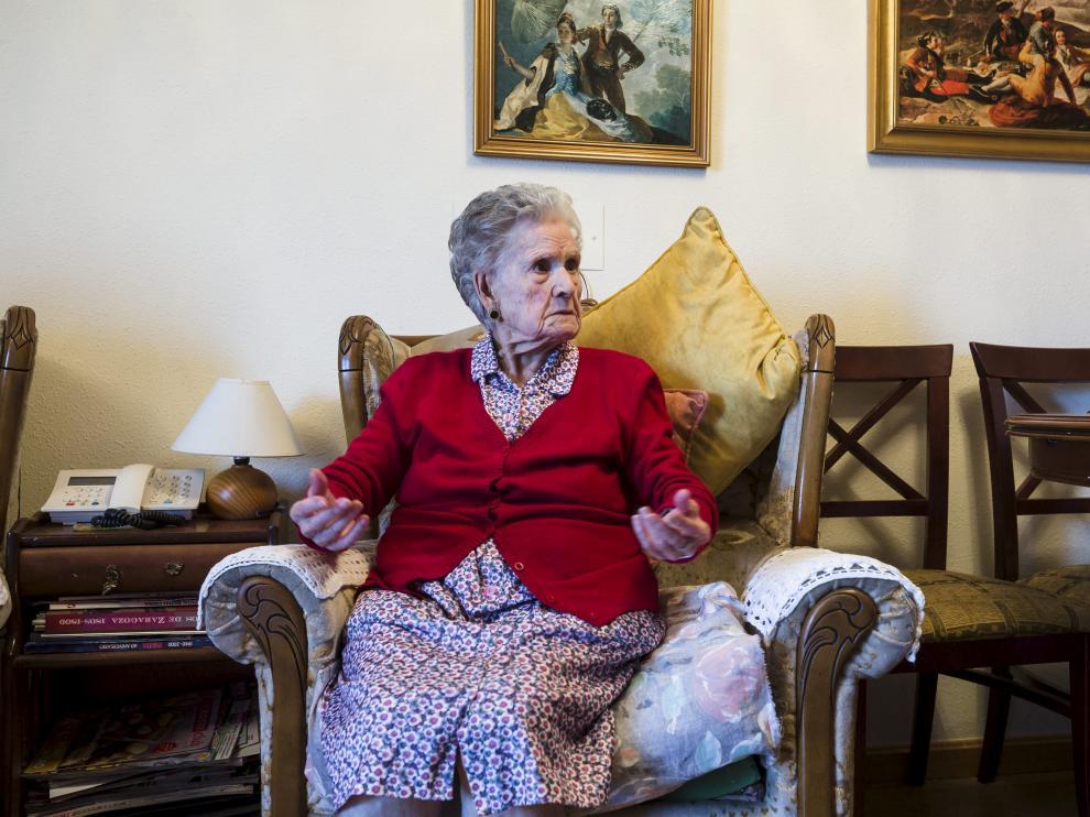 """Bienvenida, 107 años: """"Soy una máquina"""""""