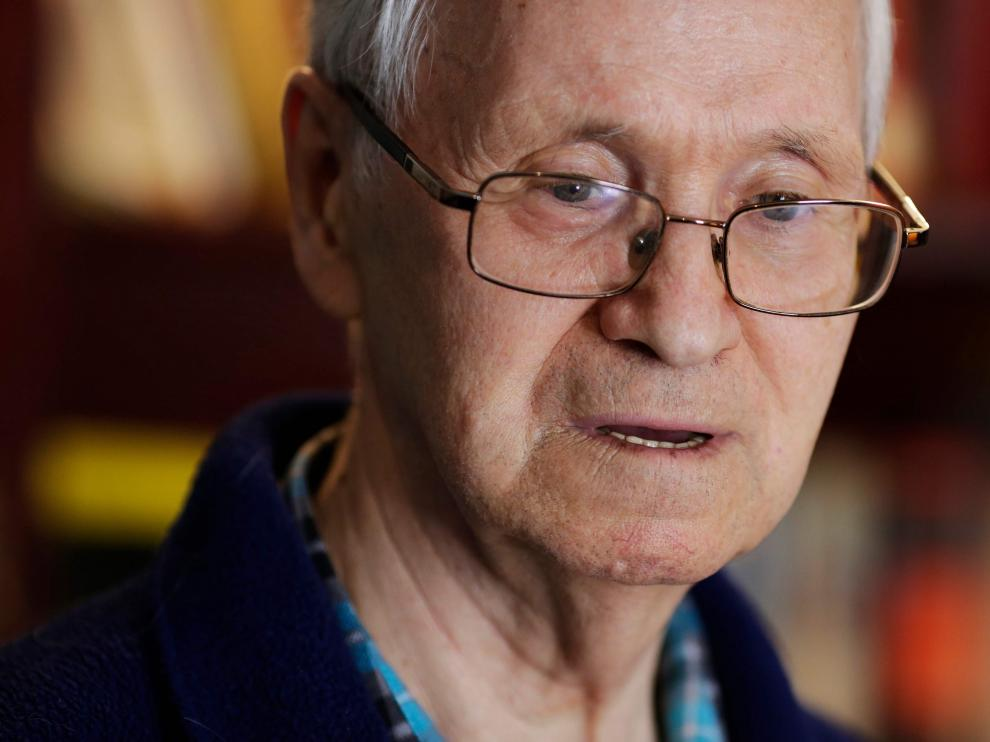 El científico ruso Vil Mirzayánov.