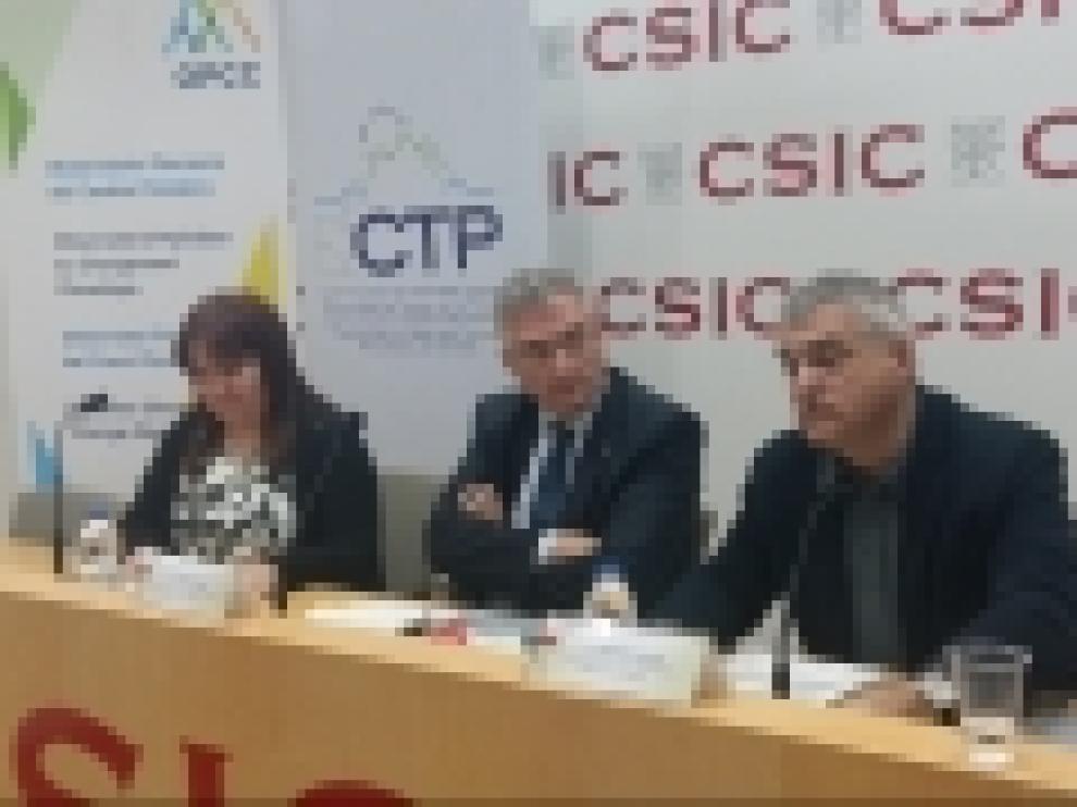 Olona ha inaugurado la reunión del comité técnico del Observatorio Pirenaico del Cambio Climático en el CSIC.