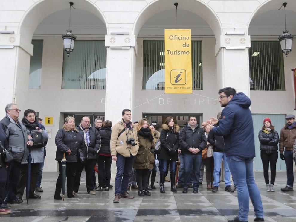 Participantes en una visita guiada organizada el pasado 5 de marzo