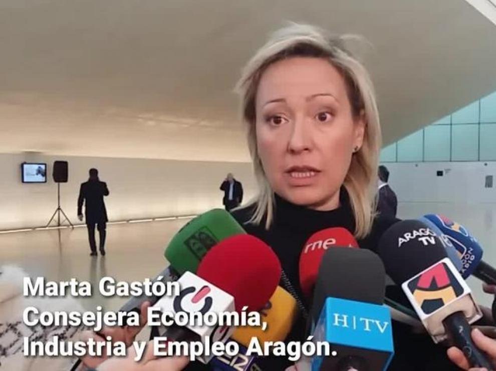 Marta Gastón, consejera de Economía