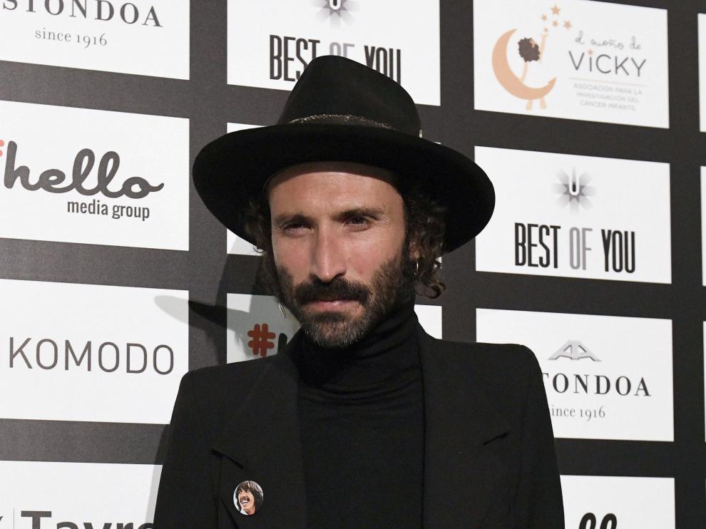 Leiva a su llegada a la 'Cena Pirata' organizada por Esteban Granero en el Casino de Madrid.