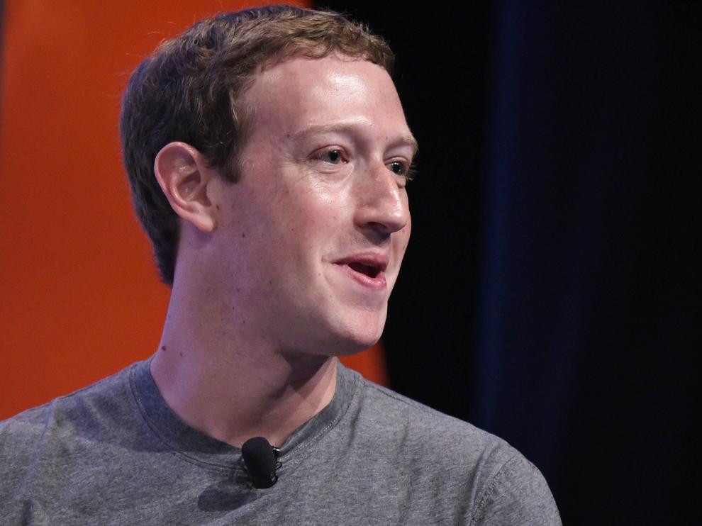 El máximo responsable de la red social Facebook, Mark Zuckerberg