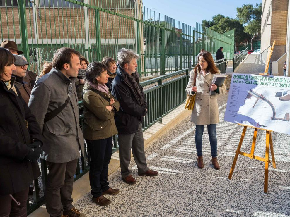 Inauguración de la calle Oviedo