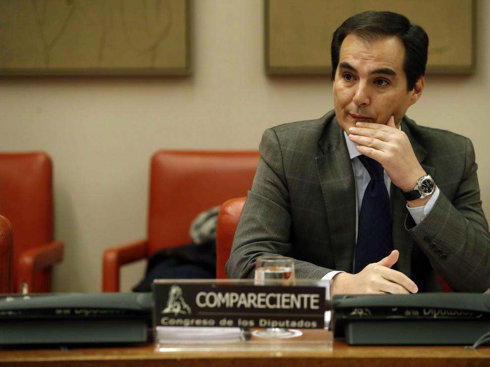 El secretario de Estado de Seguridad, José Antonio Nieto, este jueves en el Congreso.