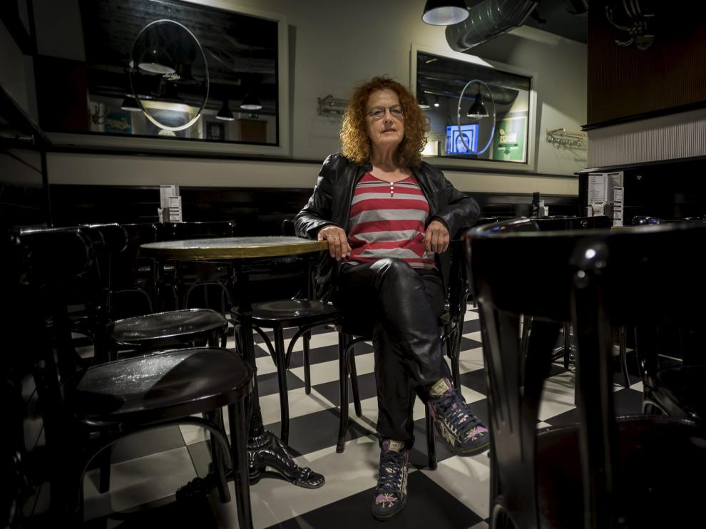 Trinidad Ruiz-Marcellán, a los pocos días de publicar 'Traducción del silencio'