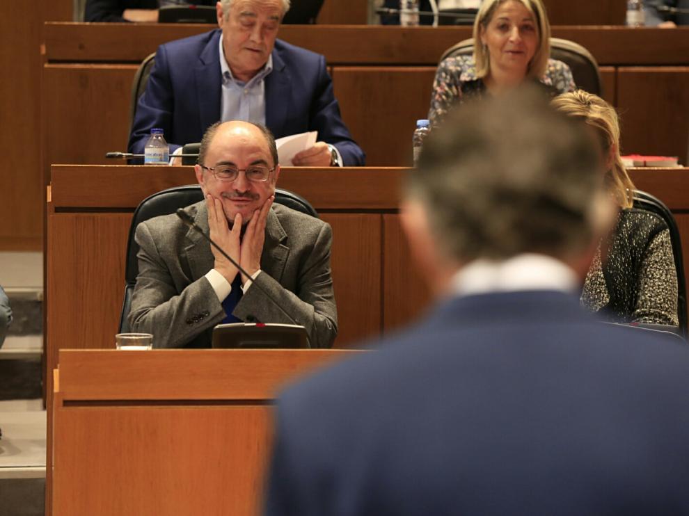 Imagen de archivo del pleno de las Cortes