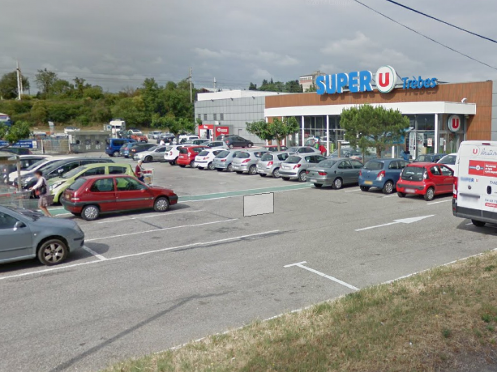 El supermercado Super U que se encuentra secuestrado
