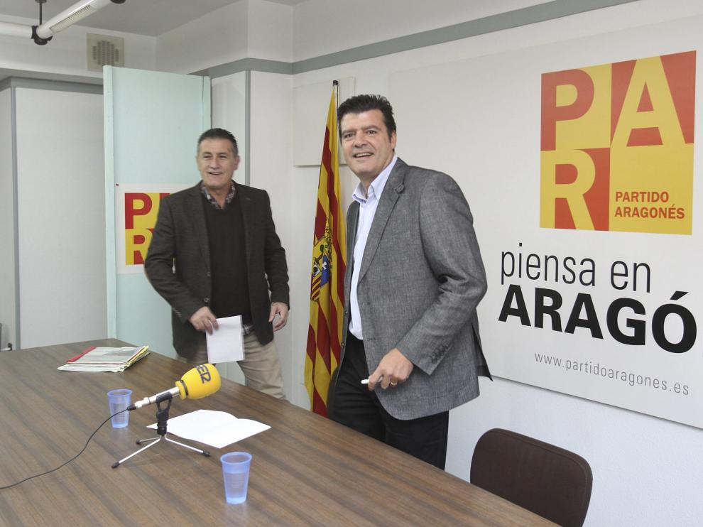 El comisionado del Gobierno de Aragón para la lucha contra la Despoblación, Javier Allué.