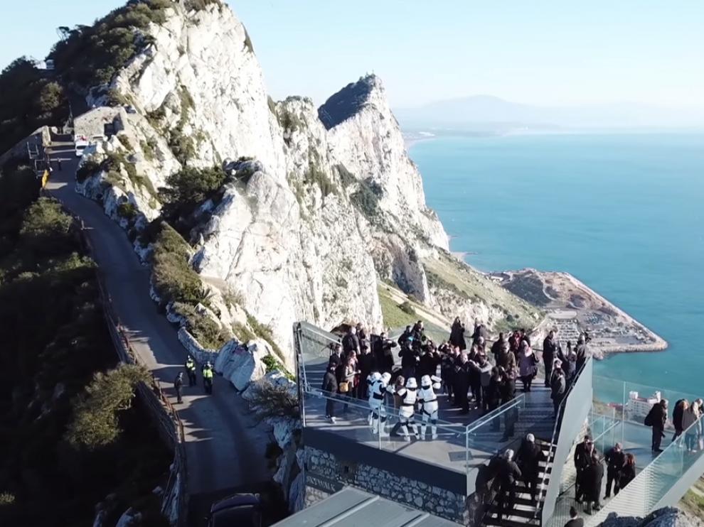 La estructura fue inaugurada el pasado martes 20 de marzo por el actor Mark Hamill, quien interpreta a Luke Skywalker
